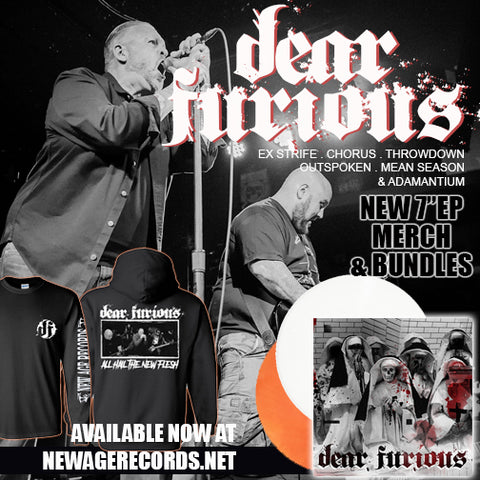 "Dear Furious ""s/t"" T-Shirt and Vinyl Bundle"
