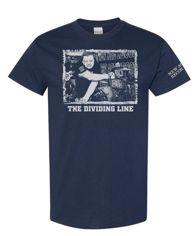 "The Dividing Line ""Turn My Back"" tee shirt blue"