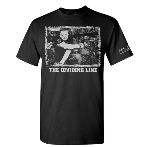 "The Dividing Line ""Turn My Back"" tee shirt black"