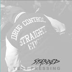 "Drug Control ""Stabbed"" 7"" Test Pressing"