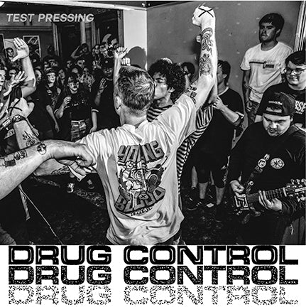 "Drug Control ""Clear Sight"" 7"" Test Pressing"