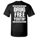 New Age Records Drug Free Youth Shirt Black