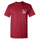 Freewill T-Shirt in Maroon