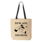 New Age Records Jumper Girl Tote Bag