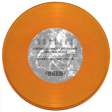 "Decline ""Own Your Words"" 7"" EP"