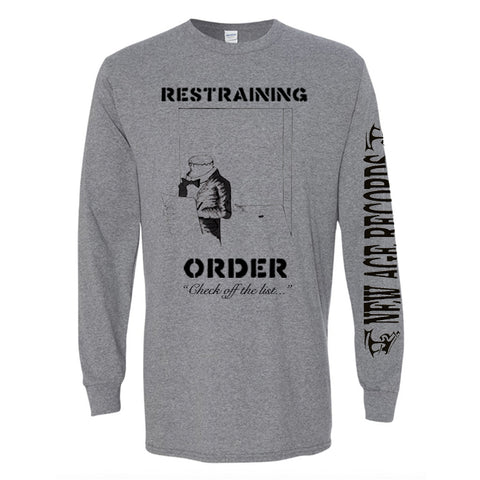"Restraining Order ""Check Off the List"" Long Sleeve Shirt"