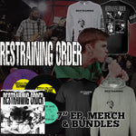 Restraining Order Two T-Shirt and Vinyl Bundle