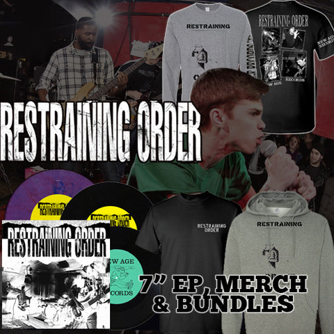 "Restraining Order ""Live"" T-Shirt and Vinyl Bundle"