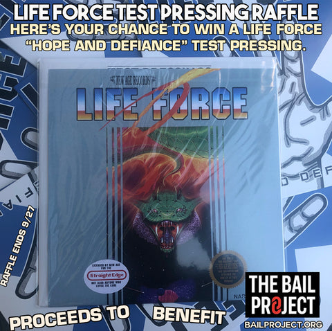 Life Force Test Pressing Charity Raffle Entry (Sept)