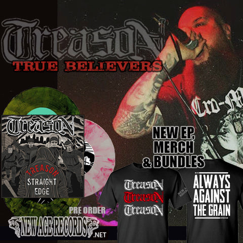 "Treason ""True Believers"" T-Shirt and Vinyl Bundle"