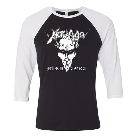 New Age Records Black Metal Baseball Tee