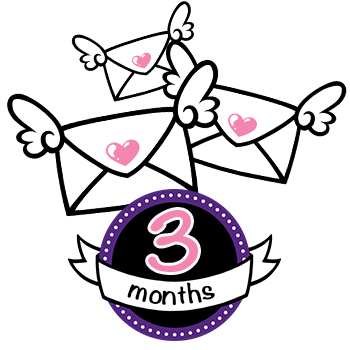 6 Month Basic Subscription - 18 Stickers