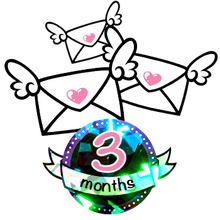 Load image into Gallery viewer, 3 Month Sparkle Magic Subscription - 6 Stickers