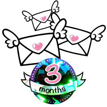 3 Month Sparkle Magic Subscription - 6 Stickers