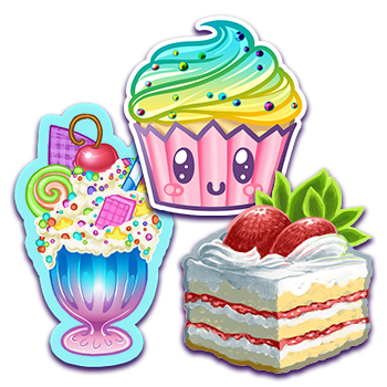 Sweet Treats - Basic Pack