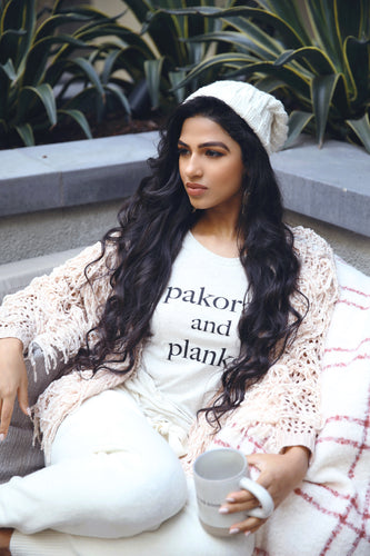 Anahita Pakoras and Planks tee