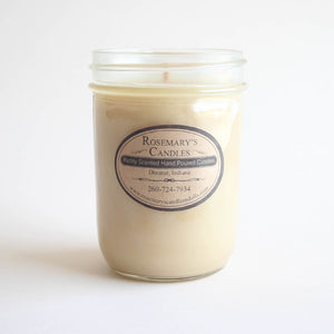 French Coffee Mason Jar Candle