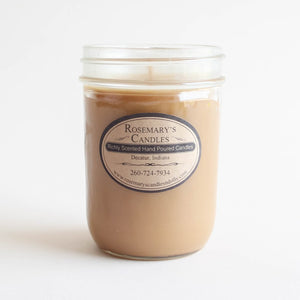 Toasted Hazelnut Coffee Mason Jar Candle