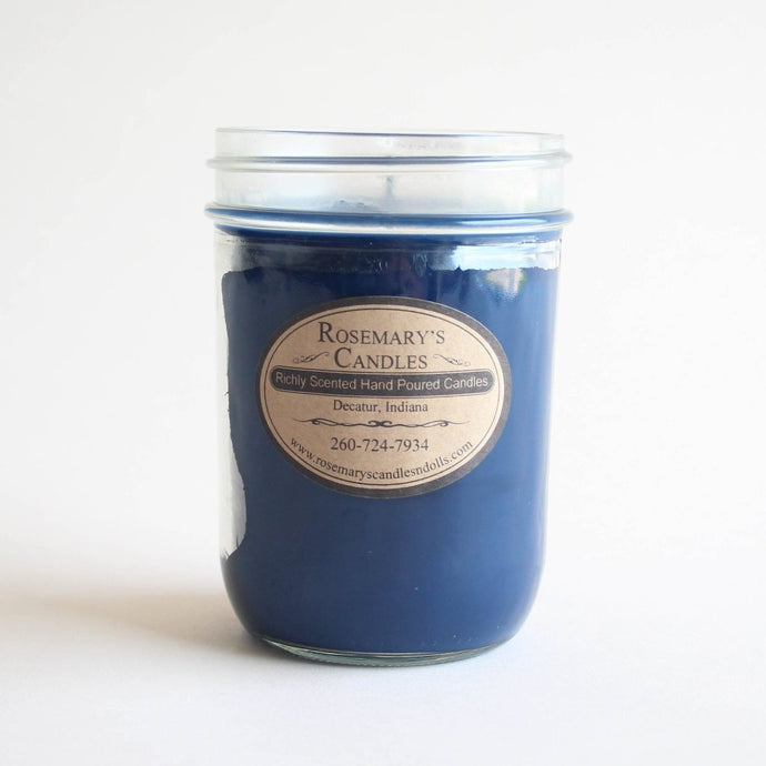 Blueberry Mason Jar Candle
