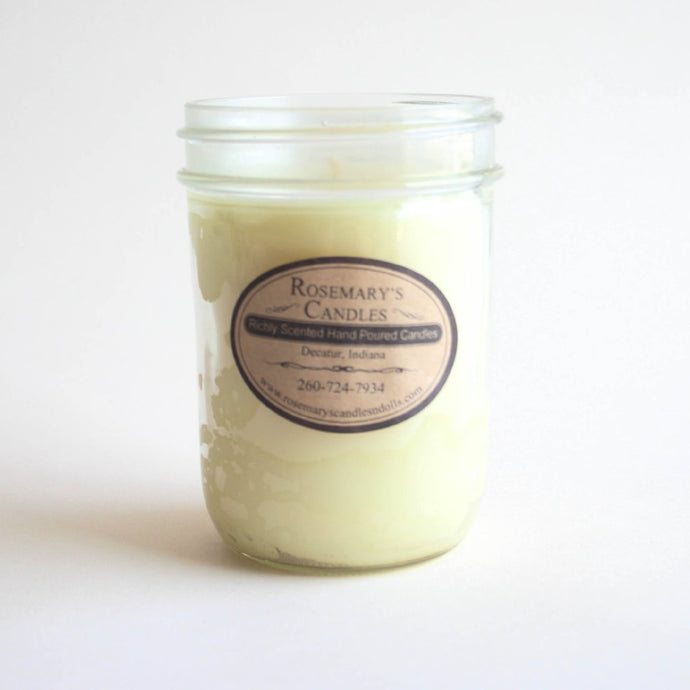 Baby Powder Mason Jar Candle