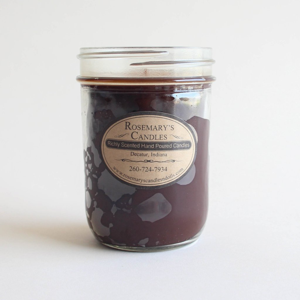 Chocolate Cake Mason Jar Candle