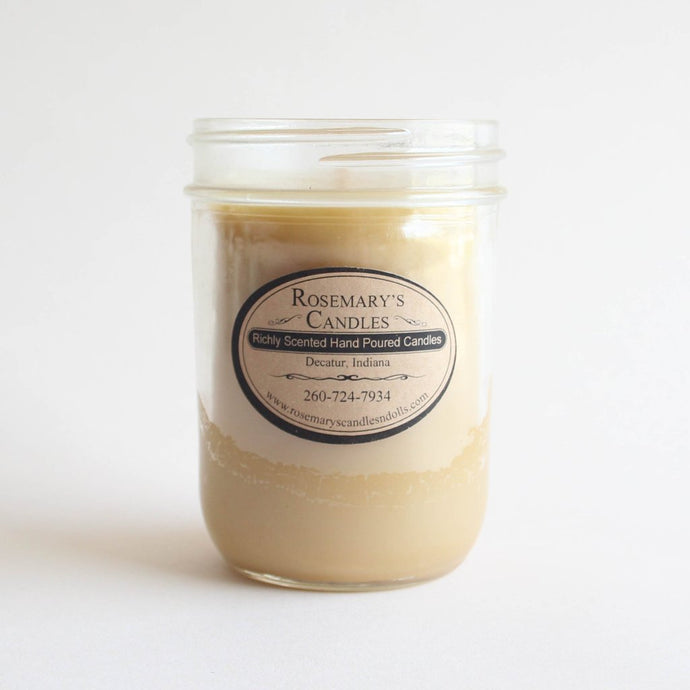 Oatmeal Cookie Mason Jar Candle