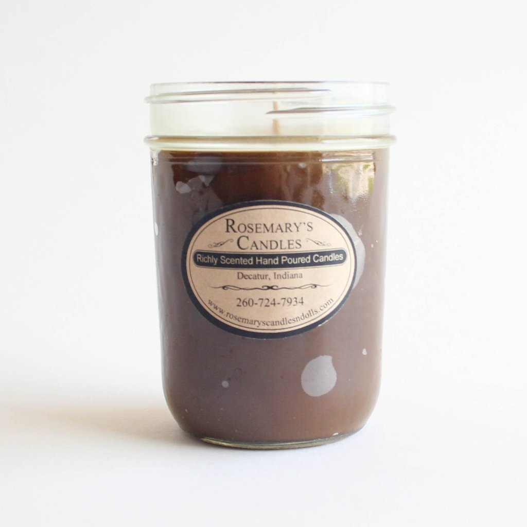 Cup of Coffee Mason Jar Candle