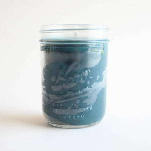 Winter Forest Mason Jar Candle