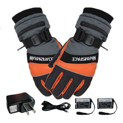 Winter Ski USB Heated Gloves