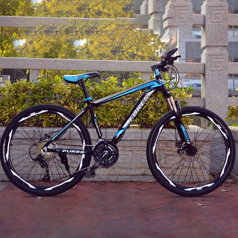 Aluminum Alloy 27-Speed Straight Bike