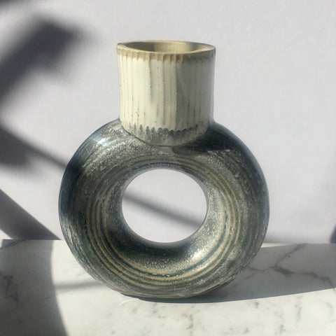 Mini Halo Vase - Grey