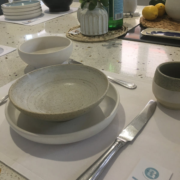 Plate - medium - Gymea White