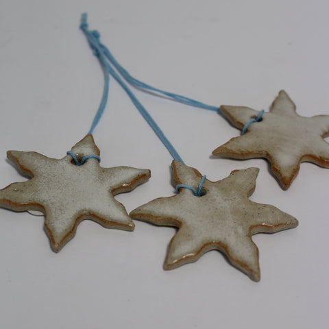 Christmas Decorations - Snowflakes Set of 3
