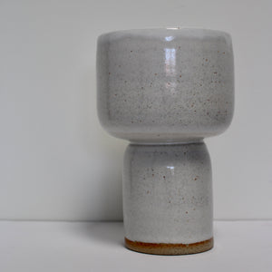 Smooth Pedestal Bowl - White
