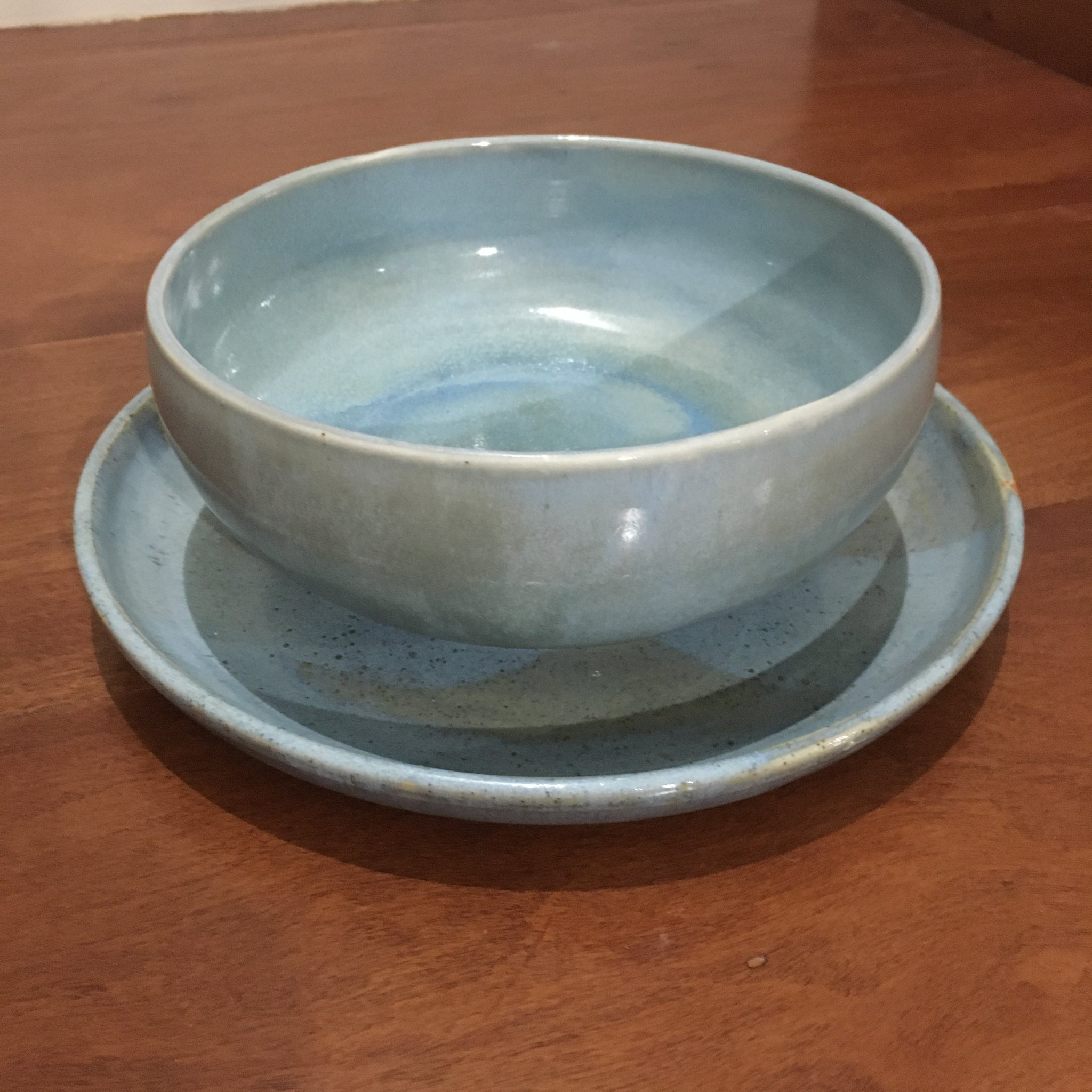 Soup bowl & plate set - Chun