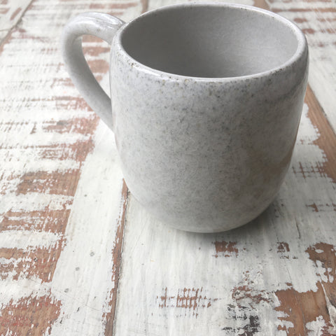 Handled Mug - Satin White