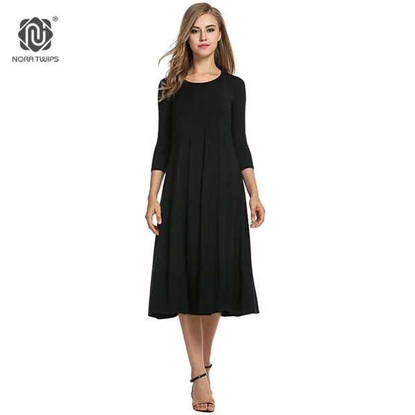 891c0f9383f 2018 Women Cotton And Linen Vintage Dress Casual Loose Solid Long Draped Dresses  Plus Size 2XL 3XL Large Size Party Dresses 2018 Women Cotton And Linen ...