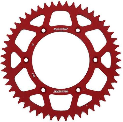 SPROCKET ALUMINIO ROJO BETA 51/50 T