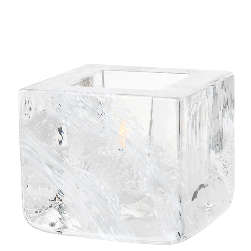 Brick Votive, White