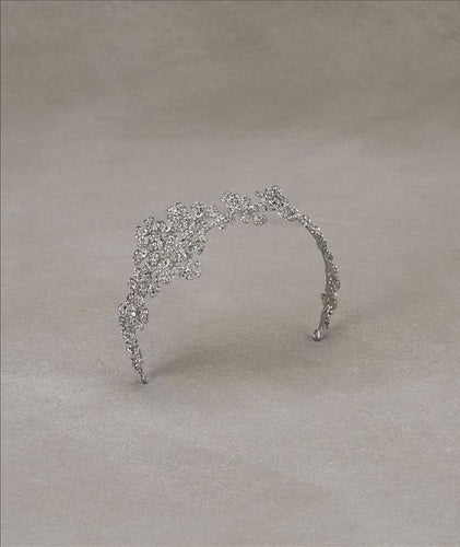 Aleli Antique Silver Headband