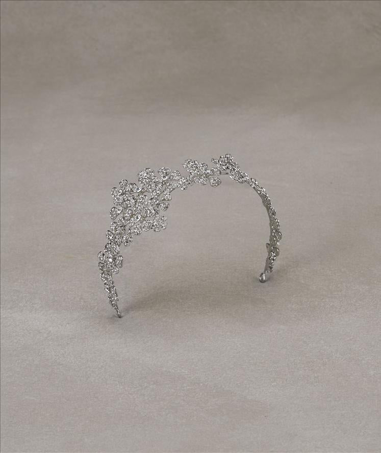 Antique Silver Headband