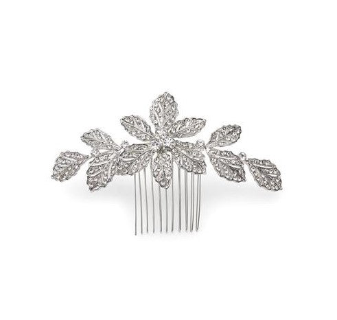 Arvales Antique Silver Comb