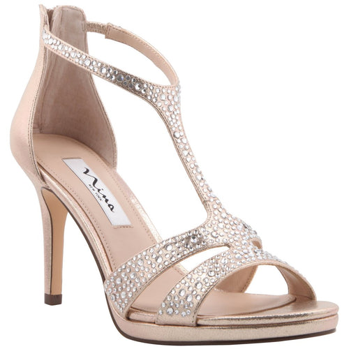 Brietta, Taupe Reflective