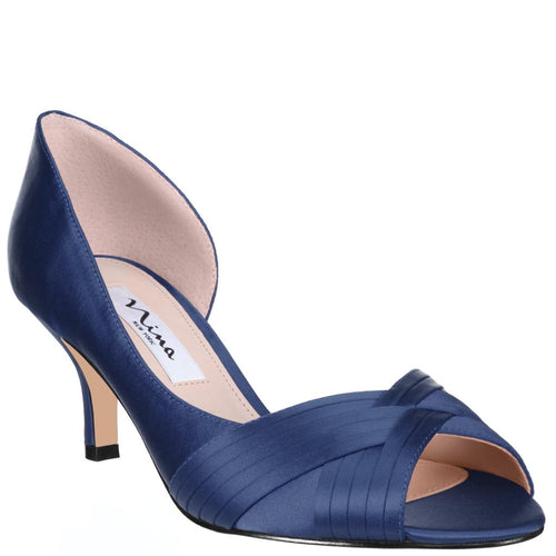 Contessa Satin, New Navy