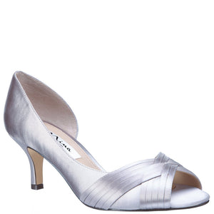 Contessa Satin, Silver