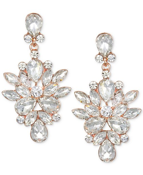 Marquis & Pear Drop Crystal Earring