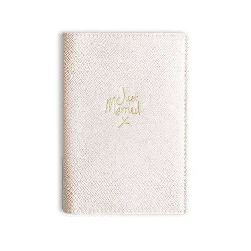 Passport Cover, Just Married