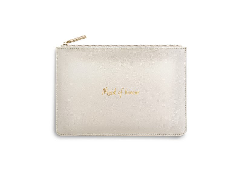 Perfect Pouch - Maid of Honor, Pearly White