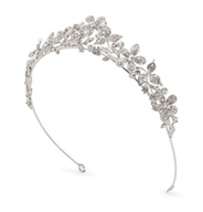 Abeona Antique Silver Headpiece