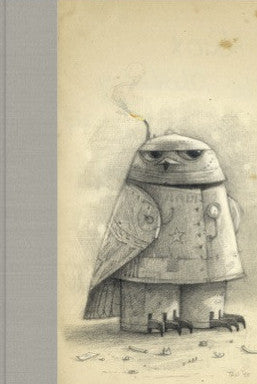 Shaun Tan Journal: Snow Owl